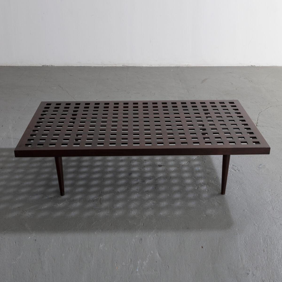 Joaquim Tenreiro, Brazil, 1950. Checkerboard Coffee Table ...
