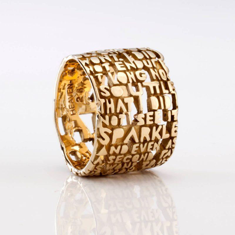 Heaven-IV Ring, in 18k gold